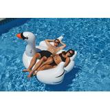 Flotador Con Forma De Cisne Gigante De Piscina Mar Relajante