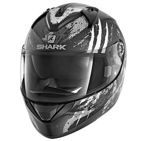 Capacete Shark Preto Fosco Cross - Capacetes para Motos no Mercado ... 522f030a3cc