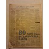 Diario La Nueva Provincia 80 Años 1ro De Agosto 1978