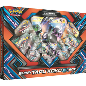 Caja Pokemon Trading Card Game Shiny Tapu Koko Gx