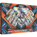 Caja Pokemon Trading Card Game Shiny Tapu Koko Gx