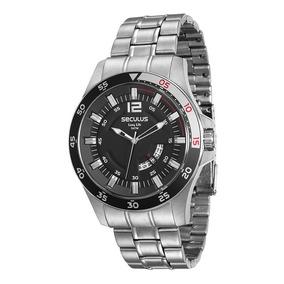 40bfbc038c3 Relogio Seculus Masculino Prata - Relógios no Mercado Livre Brasil