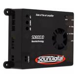 Potencia Amplificador Soundigital Sd600.1d (2 Ohm) 600 Wrms