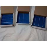 Células Painel Solar Poli 15,6x15,6cm