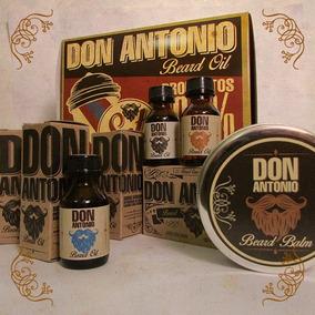 Set Para Barba Don Antonio Beard Oil // Padre Barbudo