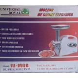 Molino De Carne Electrico Universal Royal - Modelo Iu Mgb