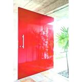 Porta Pivotante Madeira 102x210 Ferragens+batente+completa!!