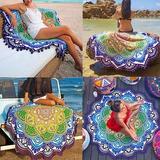 Manta Mandala Playa Tipo Toalla Fashion Gratis Hippie Bikini