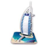 Cubicfun Rompecabezas 3d Burj Al Arab 37 Piezas C065h