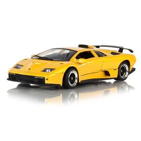 Lamborghini Diablo Gt 1:18 Amarela Motor Max