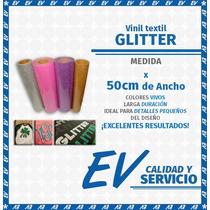 Vinil Textil Glitter, Holograma, E Imprimible, Por Metro