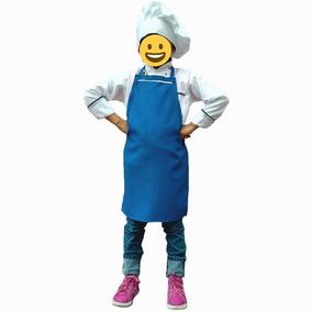 Mandil De Cocina Para Niño O Niña Varios Colores.