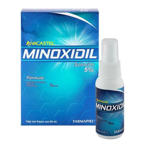 Anacastel Minoxidil Genérico 5% Líquido - 60 mL