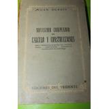 Novisimo Compendio De Calculo Y Construcciones Juan Dubois