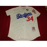 Jersey Beisbol Dodgers La. Fernando Valenzuela #34