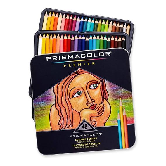 Lapices Prismacolor 48 Colores Alta Calidad Importados Usa