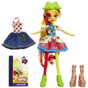 Boneca My Little Pony Equestria Girls Apple-jack - Hasbro