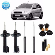 04 Amortecedor Corsa Hatch 2008 2009 2010 2011 2012 + Kit