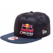 Boné New Era Red Bull Racing Strapback Original Fit Aba Reta