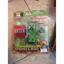 Figuras De Minecraft (creeper,alex,enderman,iron Golem)