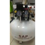 Compresor Odontológico Sap Sin Aceite 1.1hp Novacekdental