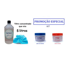 Nano Produto 5 Litr +nano Magic + Nano Gel 250g