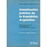 Constitucion Republica Argentina Comentada - Corbeta Dyf
