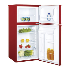 Frigobar Refex30 4.5 Ft3 Doble Puerta Color Rojo