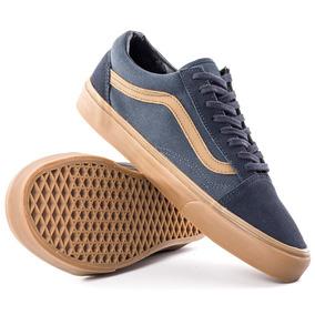 Tênis Vans Old Skool Gum Sidestripe Ebony.