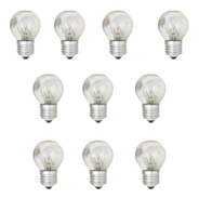 Lámpara Incandecente 24w E27 Guirnaldas France Pack X 10