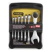 Juego Llaves Combinadas Stanley 90-651 Metricas Cortas 7 Pz