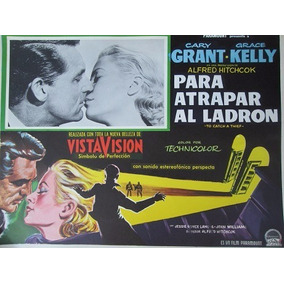 Carteles Originales De Cine Para Atrapar Al Ladron