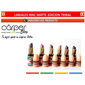 Labiales Matte Mac Edición Tribal