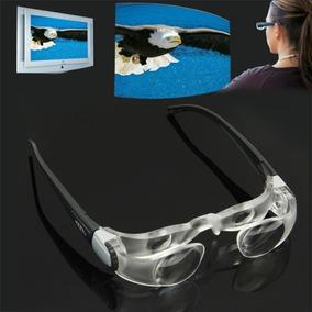 Vr Caja Video 3d Glasse 2.1x Tv Ampliacion Lente Para