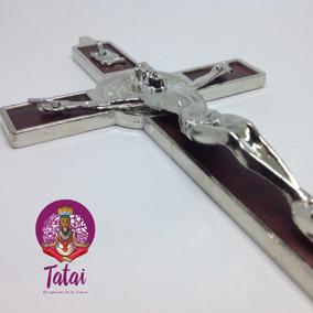 Tatai Tienda | Cristo En Cruz De Pared 1pza
