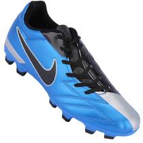 Chuteira Nike Total 90 Exacto Iv Fg Cravos Azul