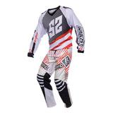 Equipo Motocross Competicion Ls2 Remera Y Pantalon Motodelta