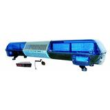 Barra De Ambulancia Azul Con Bosina De Alta Potencia 348bl