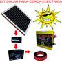 Impulsor Cerca Eléctrica Kit Solar 80km 700ha Cr480pv.