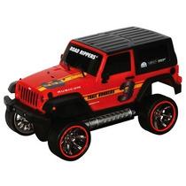 Carrinho Road Rippers - Shake Glow & Go - Jeep - Dtc