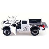 Camioneta Ford Raptor F150 Svt 1/24 Blanca