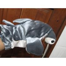 Muñeco Guiñol O Títere De Tiburón Martillo ¡hermoso! Importa