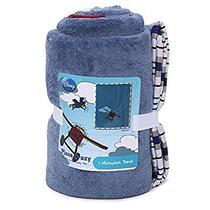 Disney Loco Plano Fleece Blanket Banda Avión