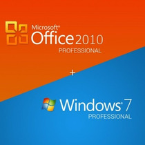 Windows 7 Pro E Office 2010 + Ativação Online + Digital