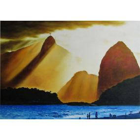 Paisagens Rio De Janeiro - Pintura Óleo Sobre Tela