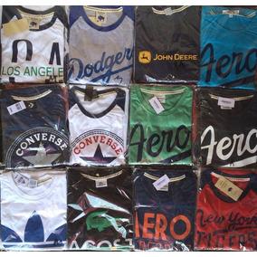 Lote De 12 Playeras Niño/niña Hollister Aero American Adidas