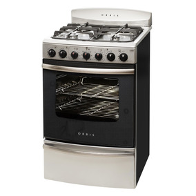 Cocina Orbis Combinada 96eaco Horno Electrico Anafe Gas Inox