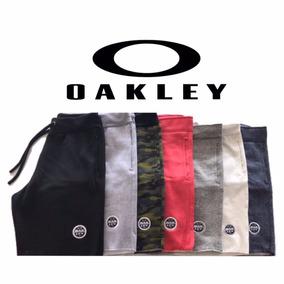 Kit 5 Shorts Bermuda Moletom Masculina Oakley Nike Camuflada