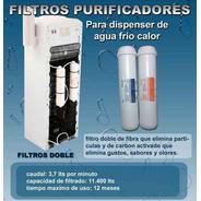 Filtros Para Dispenser De Agua Kit Completo Full! -