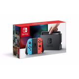 Nintendo Switch Neon Red And Blue